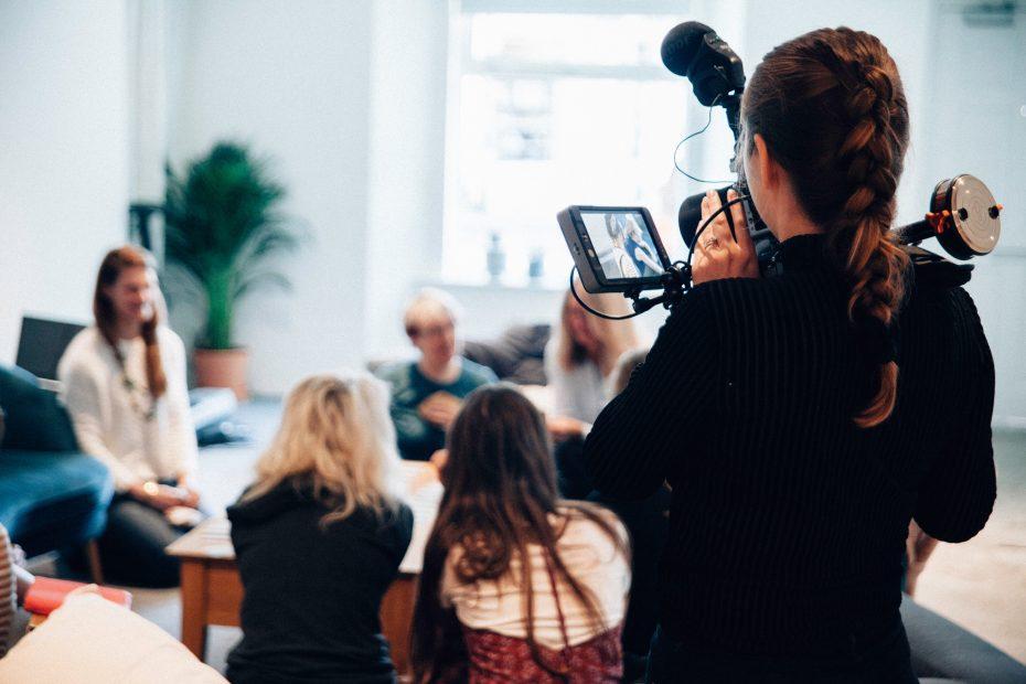 Press Conference (Photo by Vanilla Bear Films on Unsplash)